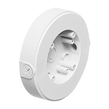 Arlington™ 8161TR Security Camera Mounting Box w/Threaded Openings, Wall or Ceiling Mount (White) ARL8161TR