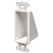 Arlington Model CED1 Decora Style Reversible Single Gang Entrance Hood
