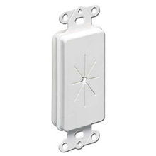 Arlington Model CED130 Cable Entry Device with Slotted Cover, each