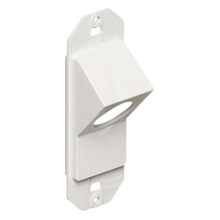 Arlington™ KD4550 45° Knock-Out Entry Device, Non-Metallic (White) ARLKD4550