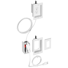 Arlington™ TV Bridge™ II Kit Single-Gang (White) ARLTVBRA1K