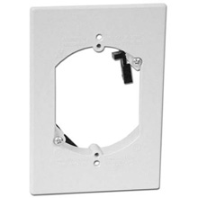 Arlington Model LV1RP Single Gang Fast Installing Low Voltage Mounting Bracket