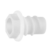 Arlington™ WB500 Non-Metallic Wire Bushings, Qty 100 (White) ARLWB500