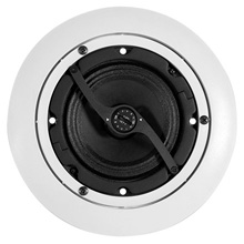 "Atlas™ DLS4 4"" Dog Leg Speaker w/ 8 Watt Transformer & Press Fit Grille (Each) ATL1078"