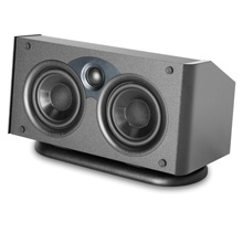 Atlantic Technology 1400C Center Channel Speaker- Black ATLC1401B