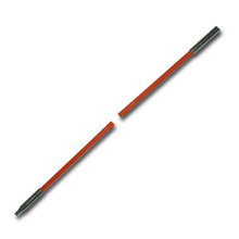 B.E.S. Fiberfish II Replacement Rod 6ft Orange, male to female