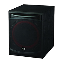 Cerwin-Vega XLS-12S 12in Powered Subwoofer, Front-Firing, Includes 50ft of Speaker Wire Free! CER1097