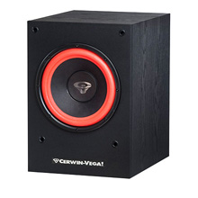 "Cerwin-Vega! SL-10S 10"" Powered Subwoofer, 150 Watts, Includes 50ft of Speaker Wire Free! CER1207"