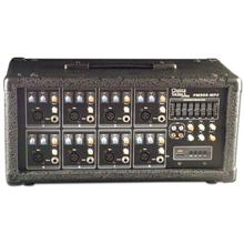 Choice Select Ultra PM-808 Powered 8 Channel Mixer Digital Delay 75W RMS (Refurbished) CHO3073REF