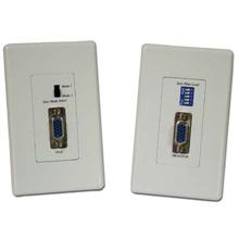 Choice Select VGA Cat5e Extender Wall Plate incl Tx and Rx CHO4059
