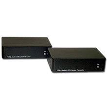 Choice Select VGA Cat5e Extender plus Stereo or Digital Audio incl Tx and Rx