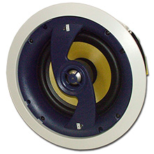 Choice Select Ultra 6.5in 2-way Ceiling Speakers with Fiberglass Woofer and Titanium tweeter, pair