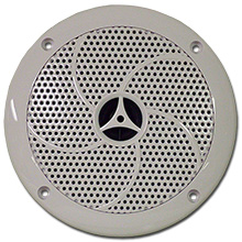 Choice Select 5.25in 2-way Marine Speakers, White, pair CHO6502