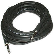 Choice Select 25ft 14ga Speaker Cable, 1/4 inch Plug to 1/4 inch Plug CHO7052