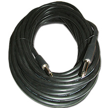 Choice Select 50ft 14ga Speaker Cable, 1/4 inch Plug to 1/4 inch Plug CHO7053