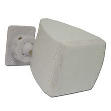 Choice Select 3in Surround Speakers with Mounting Bracket, White, Pair