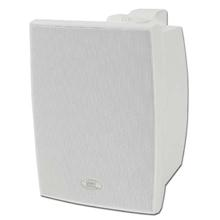 Choice Select Ultra 6.5in Weather Resistant Speakers with Aluminum grill, white, pair
