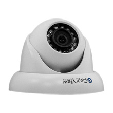 ClearView™ IP-73 Weather-Proof Mini Dome HD Network Camera w/ PoE, 1.3 Megapixel (White) CLV6032
