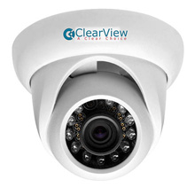 ClearView™ HD1-TD20 HD-AVS Waterproof Dome Camera w/ 3.6mm Fixed Lens (720p) CLV7001