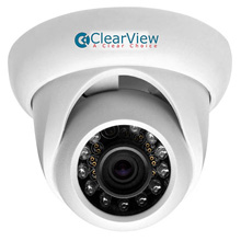 ClearView™ HD2-TD20 HD-AVS Waterproof Dome Camera w/ 3.6mm Fixed Lens (1080p) CLV7006