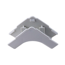 Construct Pro™ 5 pack of Inside Corner Raceway Adapters .87in (White)