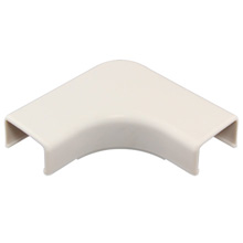Construct Pro™ 5 pack of Right Angle Raceway Adapters .87in (White) CON100RA