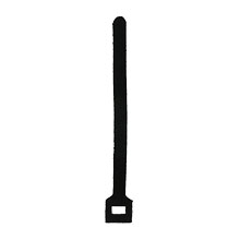 "Construct Pro™ Velcro Cable Ties, 6"" (Black)"