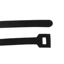 "Construct Pro™ Velcro Cable Ties, 8"" (Black)"