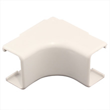 Construct Pro™ 5 pack of Inside-Corner Raceway Adapters 1.38in (White) CON200IC
