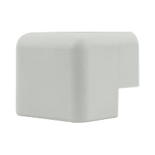 Construct Pro™ 5 pack of Inside-Corner Raceway Adapters 1.38in (White)