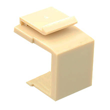 Construct Pro™ Blank Keystone Snap-in (Pack of 10 | Ivory) CON3000I