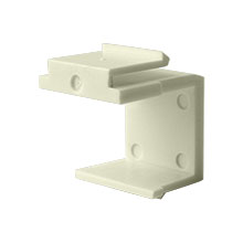 Construct Pro™  Blank Keystone Snap-in (Pack of 10 | Light Almond)