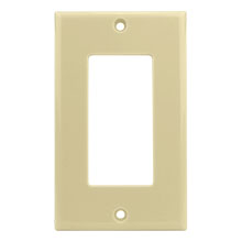 Construct Pro™ Decorative Single Gang Wall Plate (Ivory)