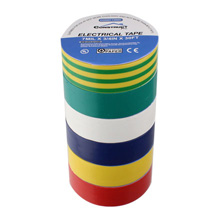 Construct Pro™ 3/4in x 30ft UL-Listed Electrical Tape, 6 pack (Multi-Color)