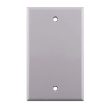 Construct Pro™ Blank Stardard Wall Plate (White) CON7003W