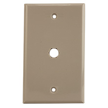 Construct Pro™ Standard Plate with .4 inch Opening (Ivory) CON7004I