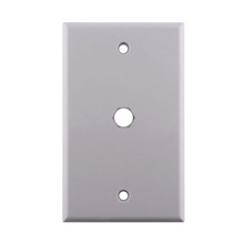 WHITE PLATE WITH .4 inch CON7004W