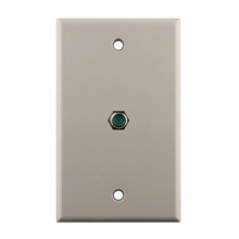 Construct Pro™ Wall Plate with 3.0ghz F-81 Connector (Light Almond)