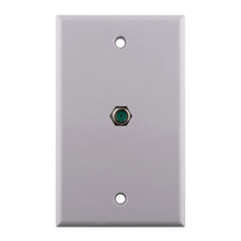 Construct Pro™ Wall Plate with 3.0ghz F-81 Connector (White)