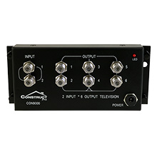 Construct Pro 2 x 6 Video Distribution Module