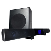 "Current Audio® SB65 40 Watt Amplified Soundbar with 6.5"" Wireless Subwoofer, for TV's 46"" to 52"" CUR5000"