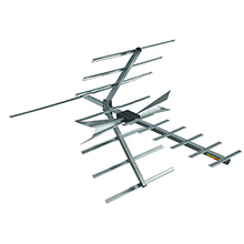 DigiTenna® DT-FAMP20-1 Fringe Antenna w/ Embedded Amplifier VHF Hi-Band/UHF, 0-65+ Miles