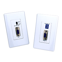 Element-Hz™ VGA over Cat5e/6 Extender Wall Plate