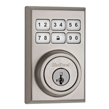 Kwikset SmartCode™ Contemporary Deadbolt Featuring ZigBee Technology (Satin Nickel) KWIK2000ZB