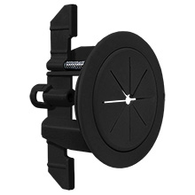 "Midlite™ R1SP-B Speedport™ 2"" Universal Cable Pass Thru & Wall Anchor System (Black) MID2024B"