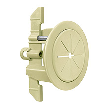 "Midlite™ R1SP-I Speedport™ 2"" Universal Cable Pass Thru & Wall Anchor System (Ivory) MID2024I"