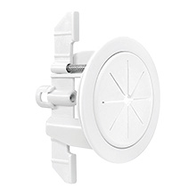 "Midlite™ R1SP-W Speedport™ 2"" Universal Cable Pass Thru & Wall Anchor System (White) MID2024W"