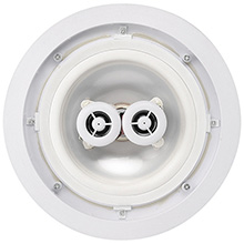 MTX Model H622AW 6.5in  2-Way Round In-Wall Speakers, Stereo Input,  All Weather, each
