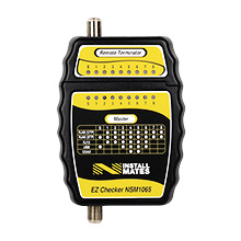 NstallMates™ EZ Checker for Testing F / RJ12 / RJ45 NSM1065