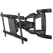 Peerless Model SA763PU Universal Articulating Wall Mount for 37-63in Screens up to 200 lbs, Gloss Black PEE7630B